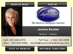 Jenelle Bezdek, Supreme Realty Group