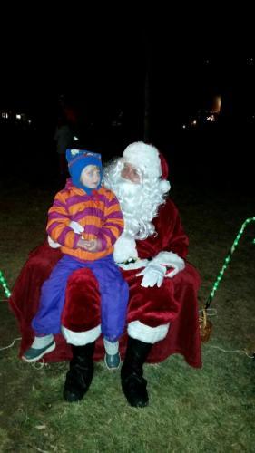 Santa and the Children
